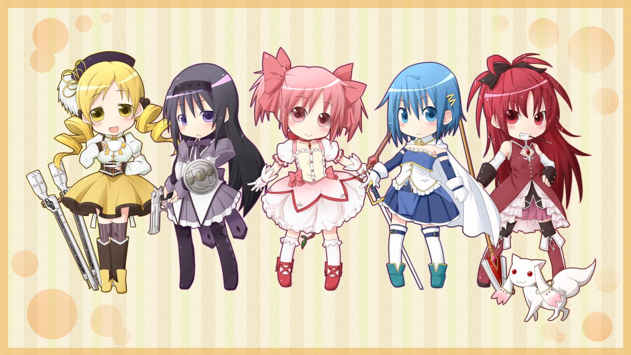 Mahou Shoujo Madoka Magica Magical Girl Madoka Magica Wallpaper 625756 Zerochan Anime Image Board