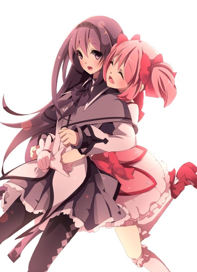 Tags: Anime, Ne7ne7ne7ne7, Mahou Shoujo Madoka☆Magica, Kaname Madoka, Akemi Homura, Magical Girl Madoka Magica