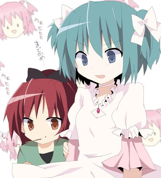 Tags: Anime, Kohane (633975), Mahou Shoujo Madoka☆Magica, Sakura Kyouko, Miki Sayaka, Ultimate Madoka (Cosplay), Magical Girl Madoka Magica
