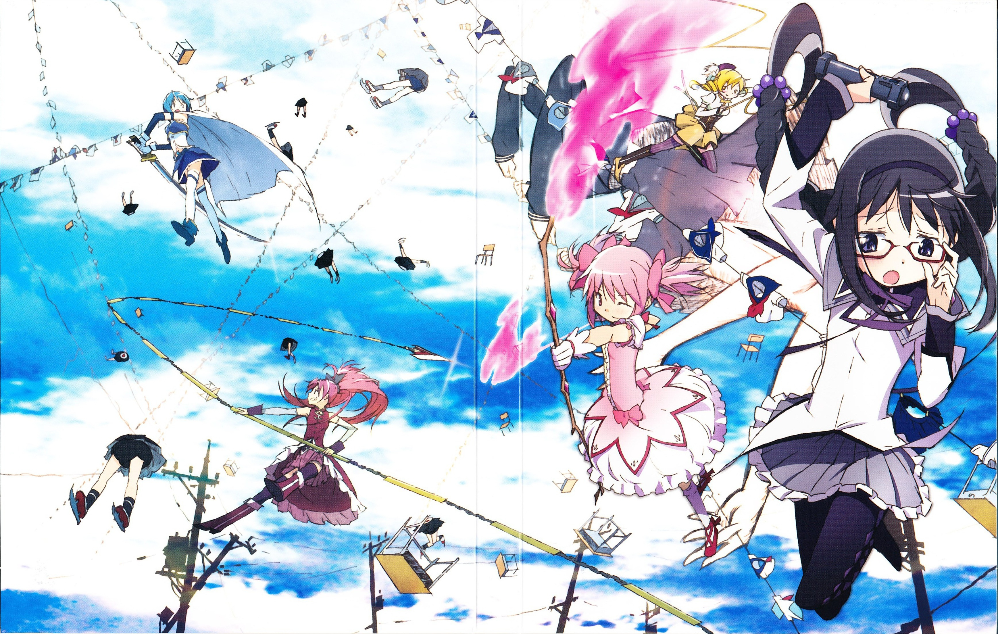 Patricia Mahou Shoujo Madoka Magica Zerochan Anime Image Board
