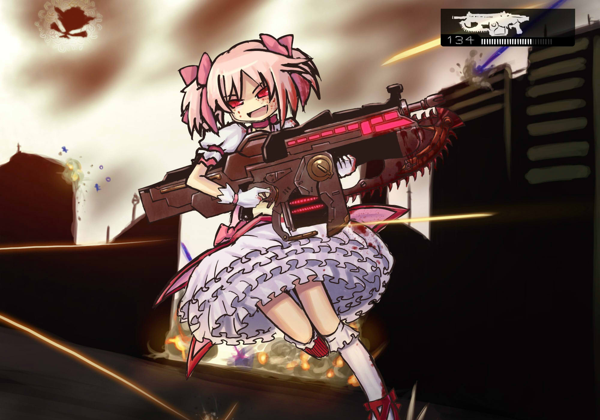 gears of war parody zerochan anime image board