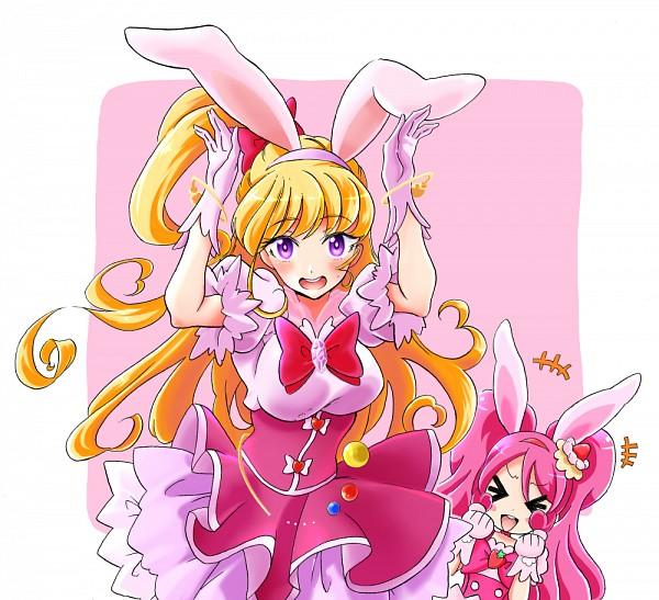 Tags: Anime, Pixiv Id 2005192, Mahou Tsukai Precure!, Kirakira☆Precure a la Mode, Usami Ichika, Cure Whip, Asahina Mirai