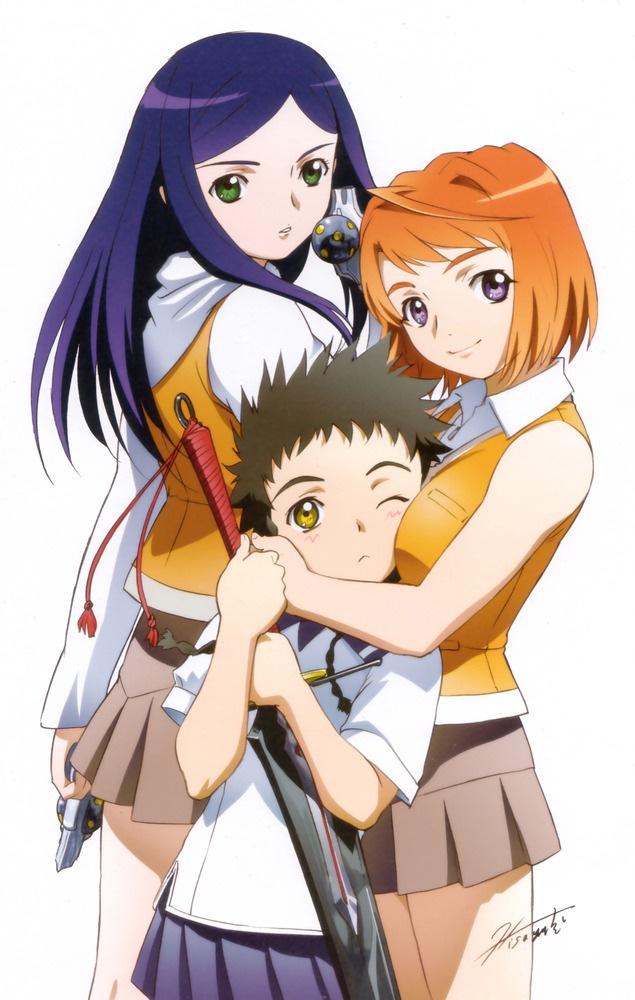 Tags: Anime, Mai-hiME, Minagi Mikoto, Tokiha Mai, Kuga Natsuki