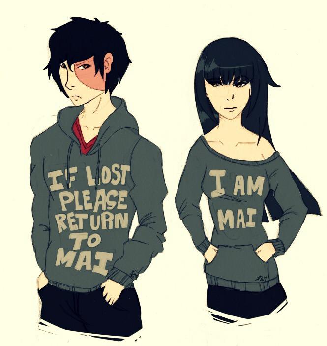 Tags: Anime, Avatar: The Last Airbender, Mai (Avatar: The Last Airbender), Zuko, The-dancing-dragons, Burnt, Maiko (Avatar Couple)