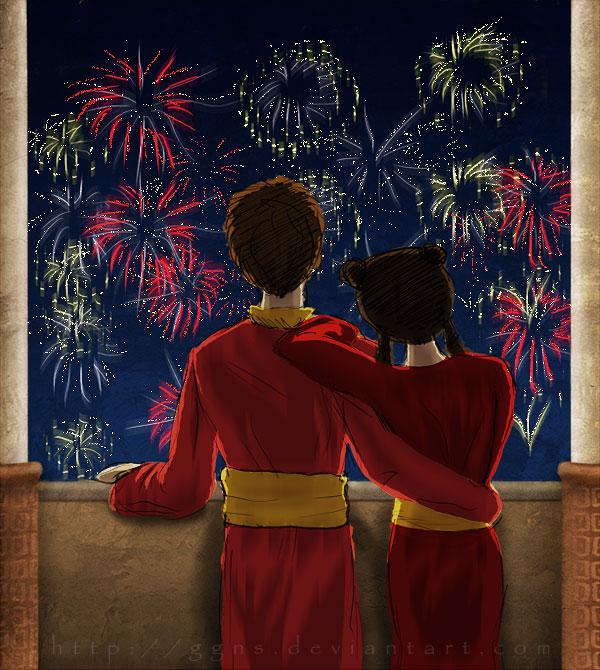 Tags: Anime, Ggns, Avatar: The Last Airbender, Mai (Avatar: The Last Airbender), Zuko, deviantART, Fanart, Maiko (Avatar Couple)