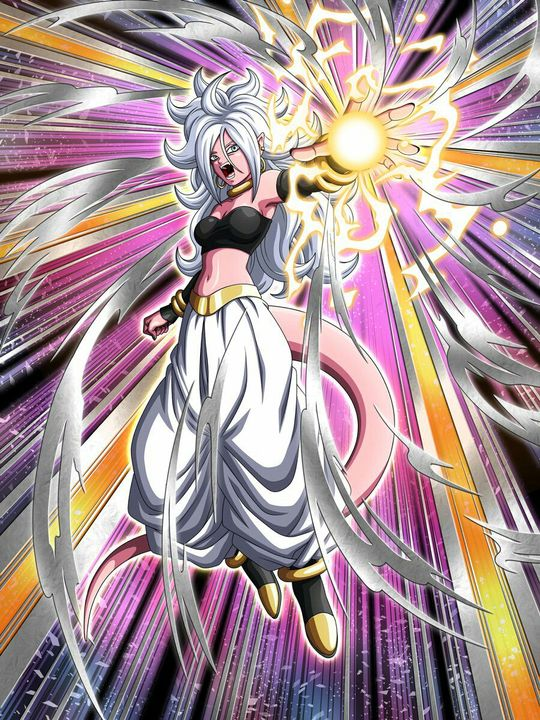 Tags: Anime, DRAGON BALL FighterZ, Android 21, Majin Android 21, Pink Skin