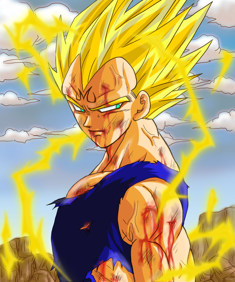 Majin vegeta zerochan anime image board - Majin vegeta pics ...