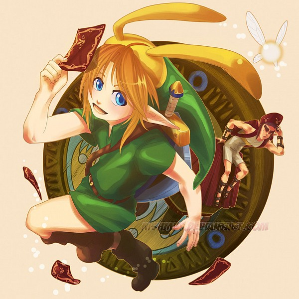 Tags: Anime, Nintendo, The Legend of Zelda, Link, Navi