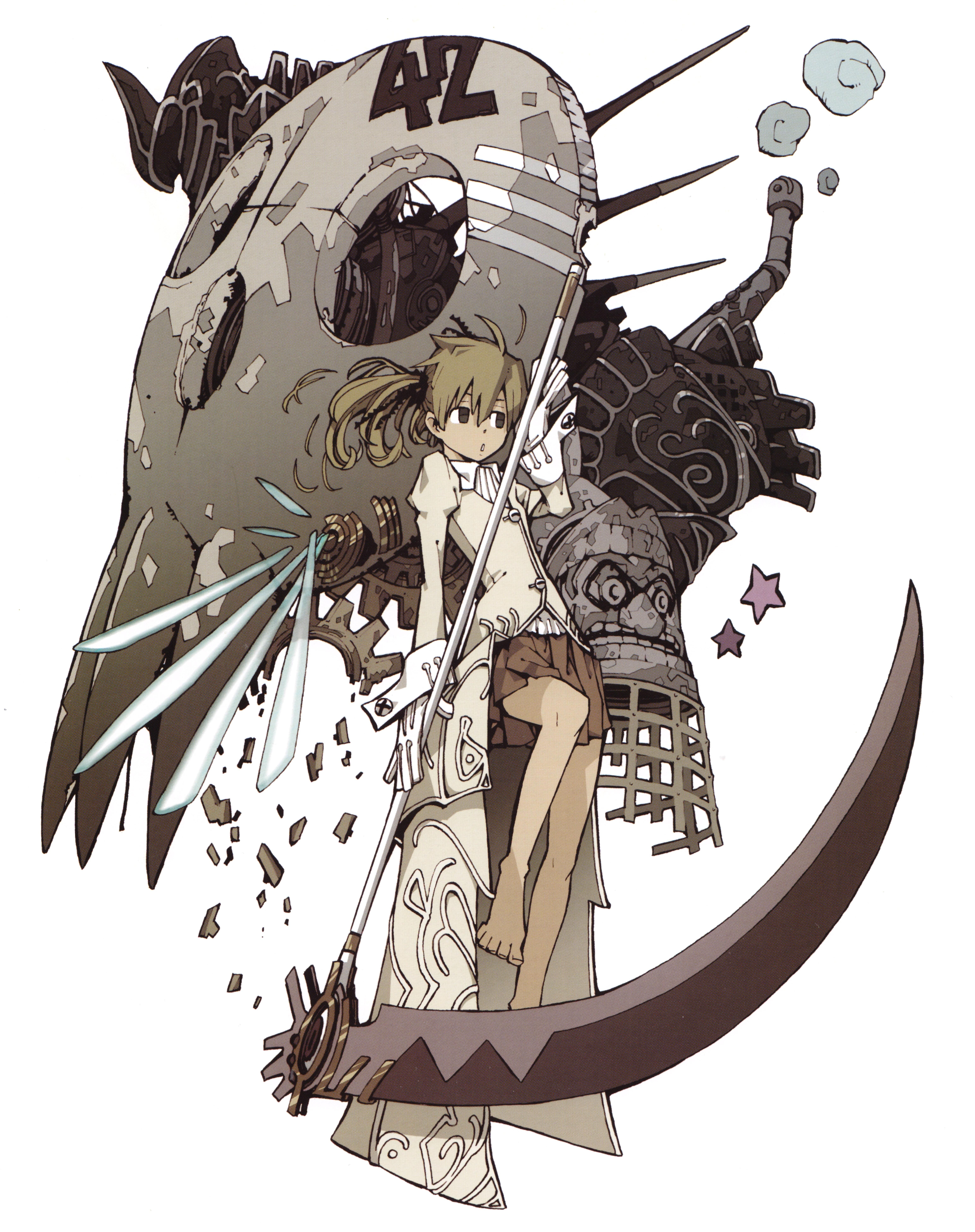Tags Anime Ohkubo Atsushi SOUL EATER ART Soul
