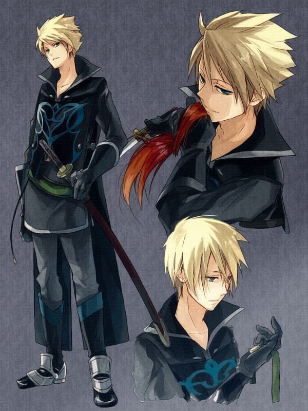 Tags: Anime, Maka Morphine, Tales of the Abyss, Guy Cecil, Pixiv, Character Sheet