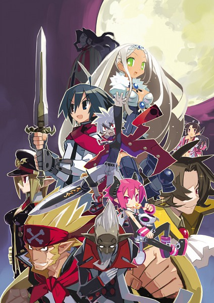 Tags: Anime, Harada Takehito, Nippon Ichi Software, Makai Senki Disgaea, Mao (disgaea), Salvatore The Magnificent, Almaz