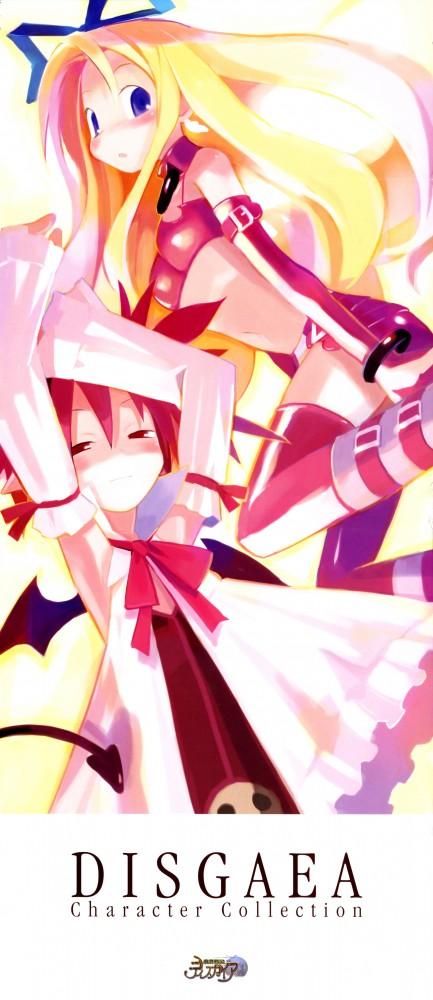 Tags: Anime, Nippon Ichi Software, Makai Senki Disgaea, Flonne, Etna, Netherworld Battle Chronicle Disgaea
