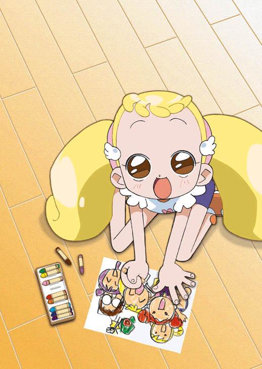 Tags: Anime, Umakoshi Yoshihiko, Ojamajo DoReMi, Makihatayama Hana, Official Art, Hana Makihatayama