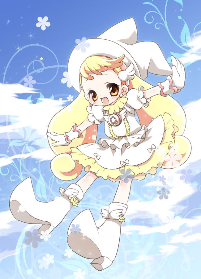Tags: Anime, Witch, Ojamajo DoReMi, Makihatayama Hana, Sparkles, Pixiv Id 81133