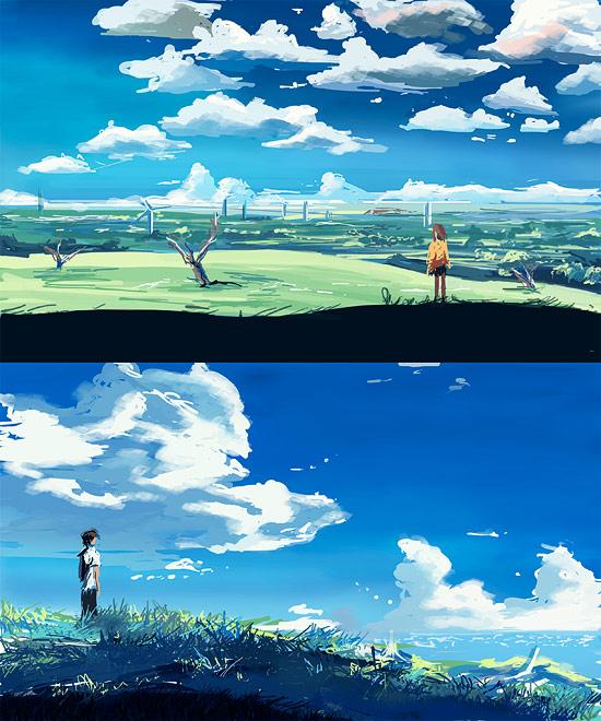 View Fullsize Makoto Shinkai Image
