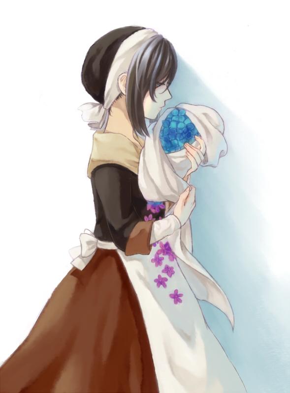 Tags: Anime, Pixiv Id 2877678, Maman (Sound Horizon), Violet (Flower), Pixiv, Fanart From Pixiv, Fanart, Roman (Sound Horizon), Sound Horizon