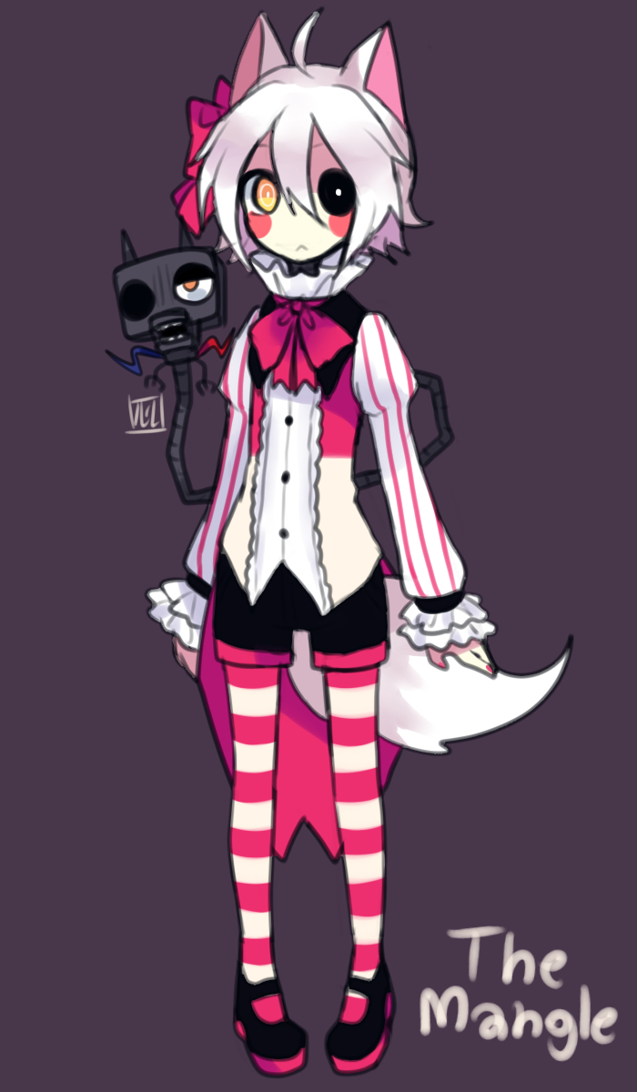 Five nights at anime mangle jumpscare