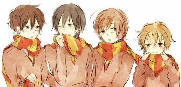 Tags: Anime, Morikuma Sirius, Harry Potter, Peter Pettigrew, James Potter, Remus Lupin, Sirius Black