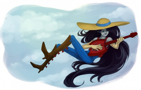 Tags: Anime, Fanart, Adventure Time, Marceline Abadeer, Skepticarcher