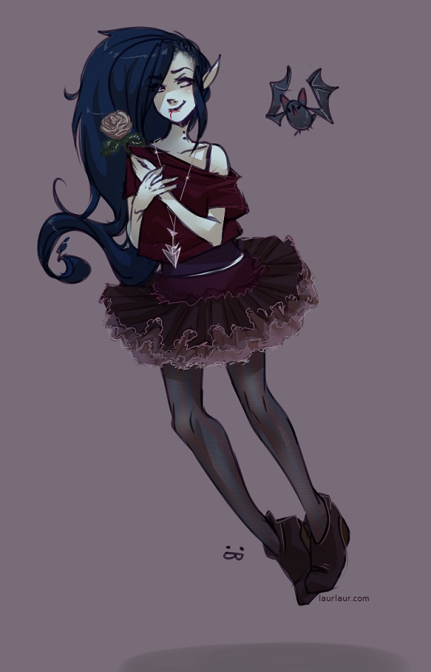 Tags: Anime, Adventure Time, Marceline Abadeer, Laur (Artist)