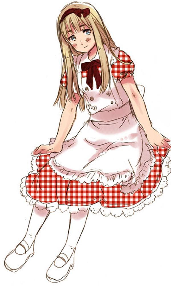 Tags: Anime, Himaruya Hidekaz, Chibisan Date, Margaret Baker, Mobile Wallpaper