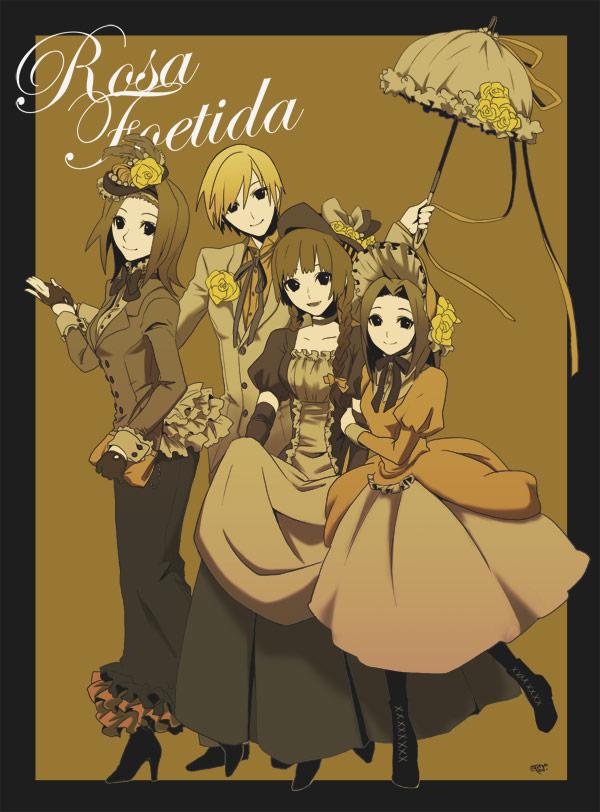 Tags: Anime, Tonosuke, Maria-sama ga Miteru, Shimazu Yoshino, Arima Nana, Torii Eriko, Hasekura Rei, Maria Watches Over Us