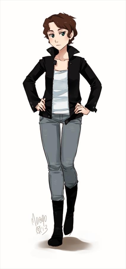 Manga Tomboy Outfits Mariya Rusikova...