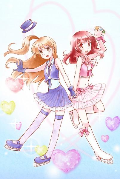 Tags: Anime, Pretty Rhythm: Aurora Dream, Harune Aira, Amamiya Rizumu, Pixiv Id 270390, Mars♪