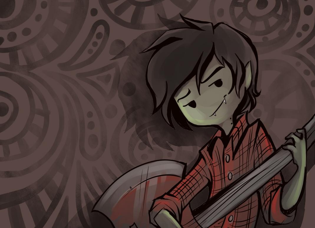 Marshall Lee The Vampire King Adventure Time Zerochan