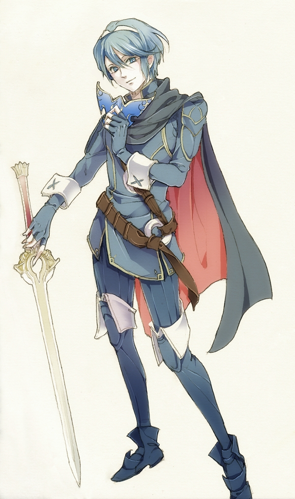 Tags: Anime, Pixiv Id 2980782, Fire Emblem: Monshou no Nazo, Marth (Fire Emblem), Mobile Wallpaper