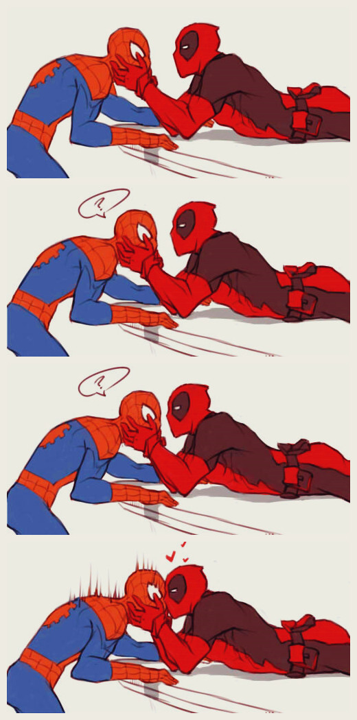 Spiderman and deadpool relationship