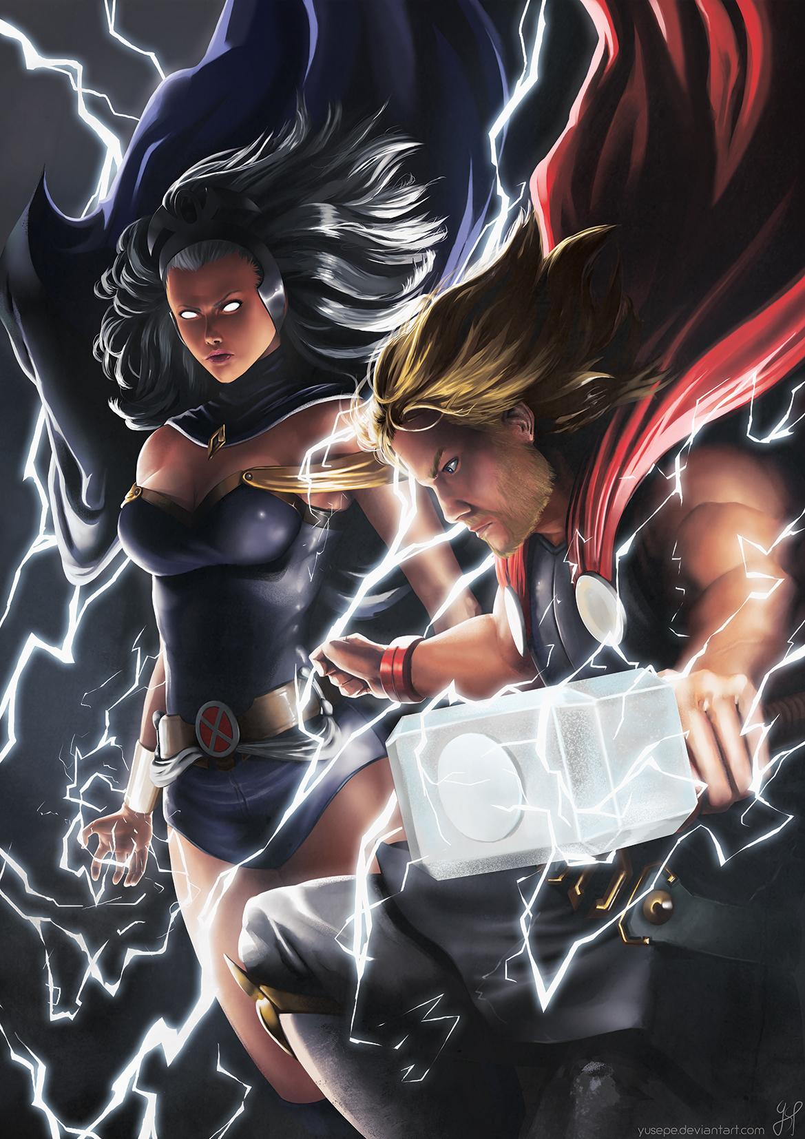 Storm Character Marvel Zerochan Anime Image Board