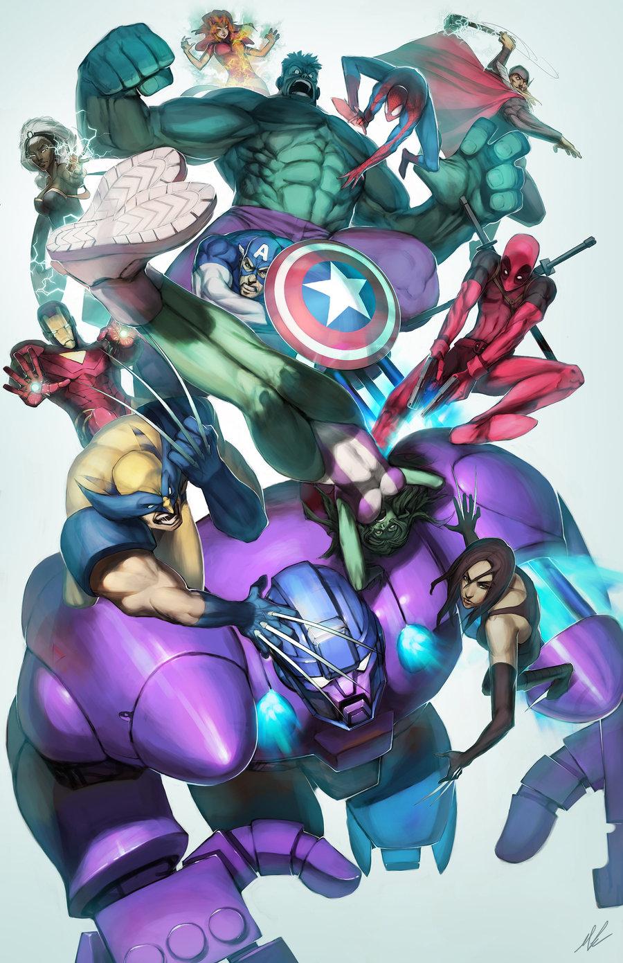 Download Wallpaper Marvel Deviantart - Marvel  Snapshot_856135.jpg