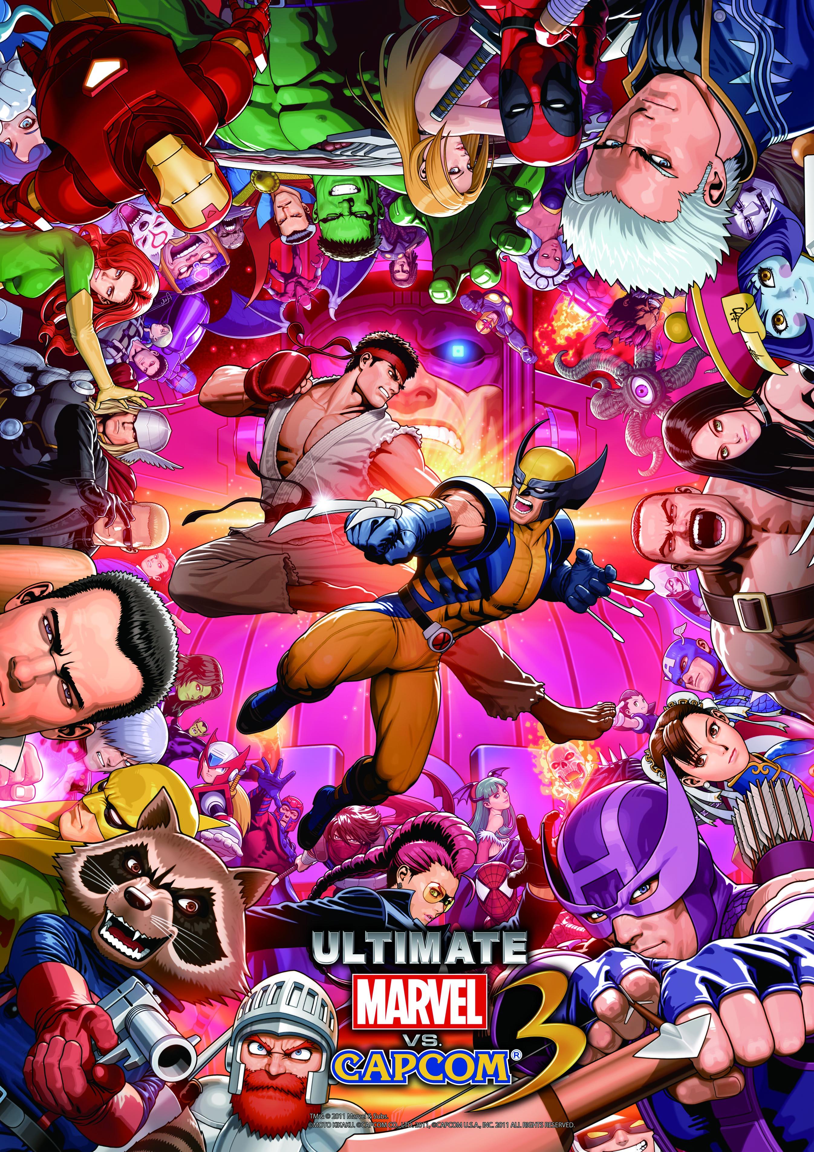 Marvel Vs Capcom Mobile Wallpaper 991426 Zerochan Anime Image Board