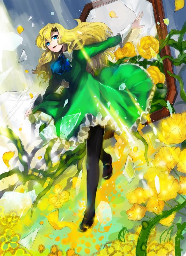 Tags: Anime, Wonagi, Ib, Mary (Ib), Pixiv, Fanart, Fanart From Pixiv