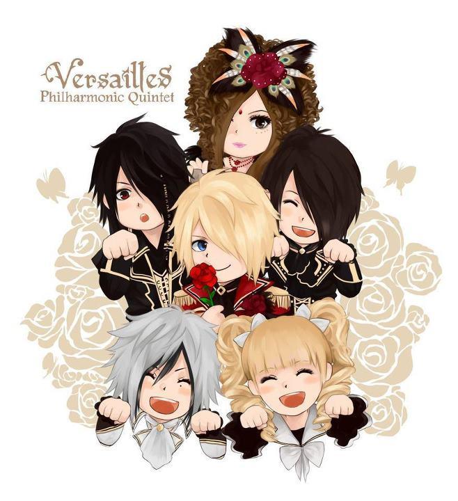 Tags: Anime, Masashi, Hizaki, Jasmine You, Kamijo, Versailles Philharmonic Quintet