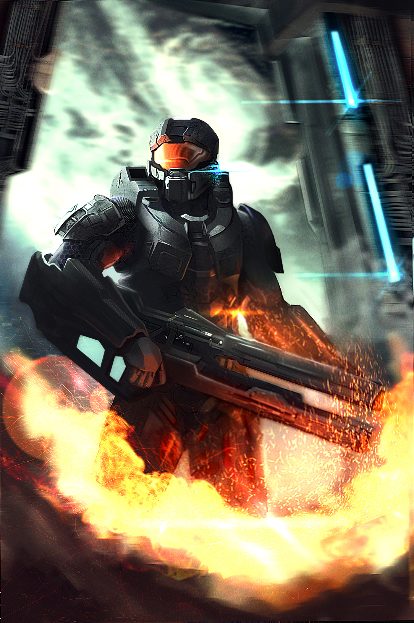 Master Chief - Halo  Game
