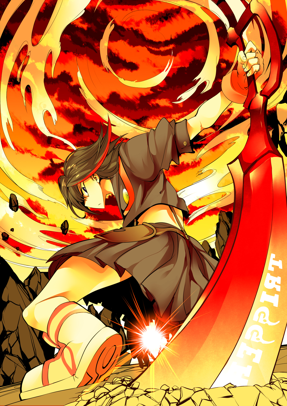 Kill La Kill Mobile Wallpaper Zerochan Anime Image Board