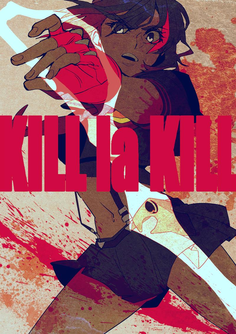 Matoi Ryuuko Ryuuko Matoi Kill La Kill Mobile Wallpaper