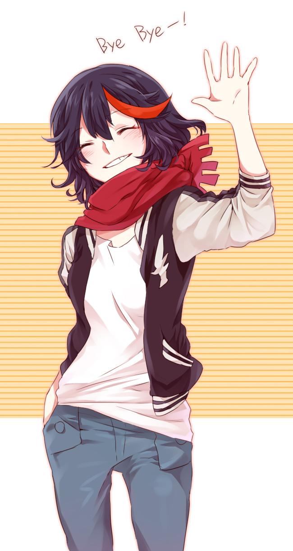 Tags: Anime, Pixiv Id 1479579, KILL la KILL, Matoi Ryuuko, Fanart From Pixiv, Mobile Wallpaper, Pixiv, Fanart, Ryuuko Matoi