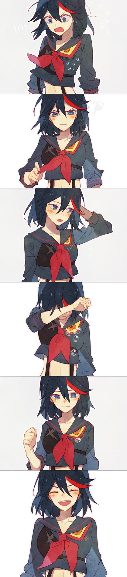 Tags: Anime, You (Roka), KILL la KILL, Matoi Ryuuko, Fanart From Pixiv, PNG Conversion, Pixiv, Fanart, Ryuuko Matoi