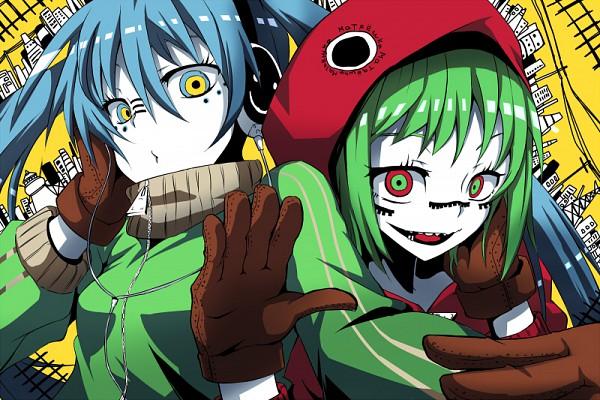 Tags: Anime, Vocaloid, Hatsune Miku, GUMI