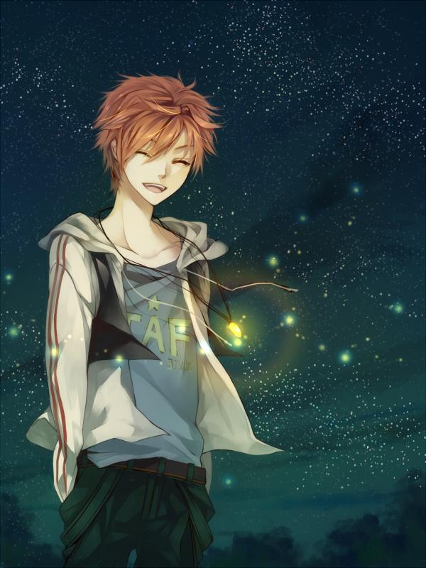 Tags: Anime, Matsunaka Hiro, Fireflies, Original, Pixiv