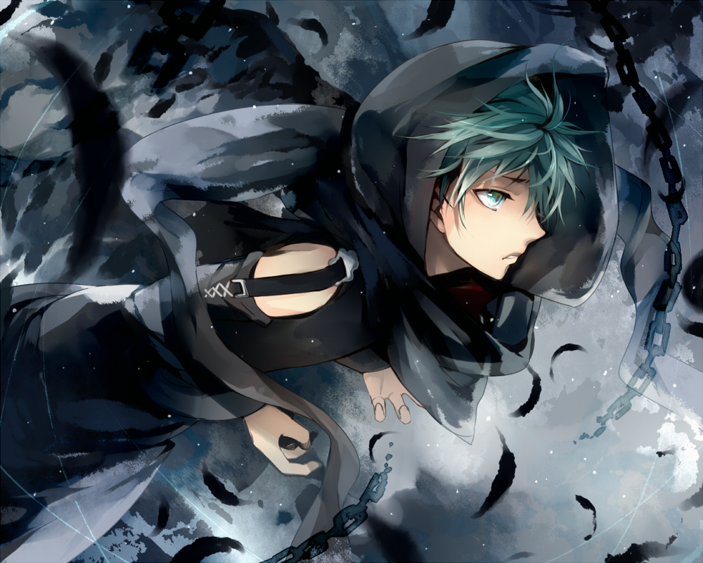 25+ Green Haired Anime Boy  Background