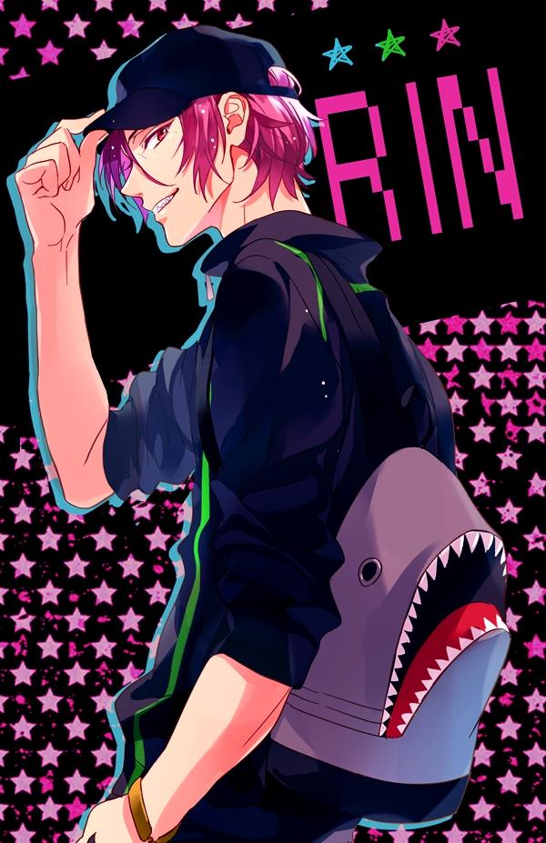 Tags: Anime, Matsuo Shin, Free!, Matsuoka Rin, Fanart From Pixiv, Mobile Wallpaper, Pixiv, Fanart