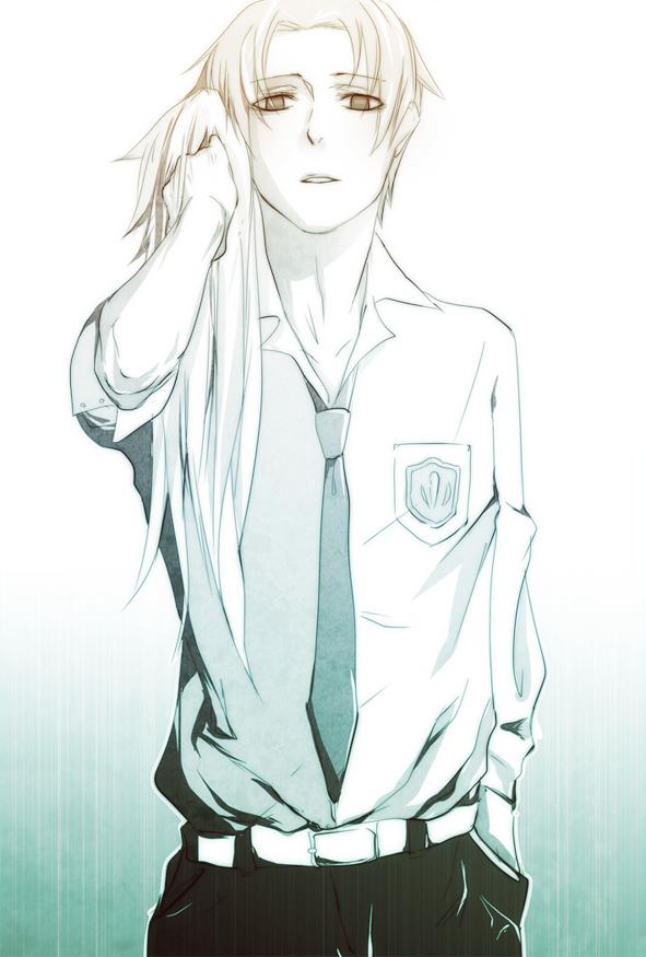 Tags: Anime, Pixiv Id 403191, Ano Hi Mita Hana no Namae o Bokutachi wa Mada Shiranai., Matsuyuki Atsumu, Wig, Mobile Wallpaper