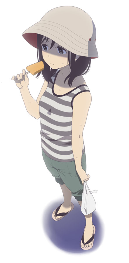 Tags: Anime, Mattaku Mosuke, Flip Flops, Pixiv, Original