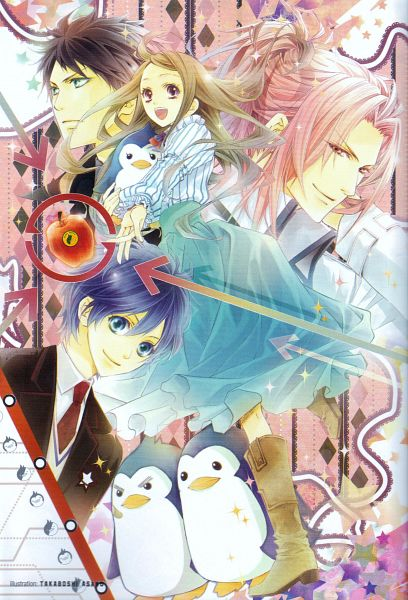 Tags: Anime, Takaboshi Asako, Mawaru Penguindrum, Fabulous Anthology, Penguin No.2, Penguin No.1, Takakura Shouma