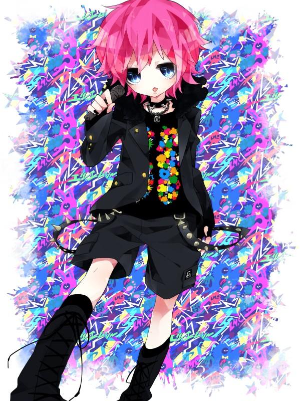Tags: Anime, Shimogu, Maya (LM.C), Padlock, Original, LM.C