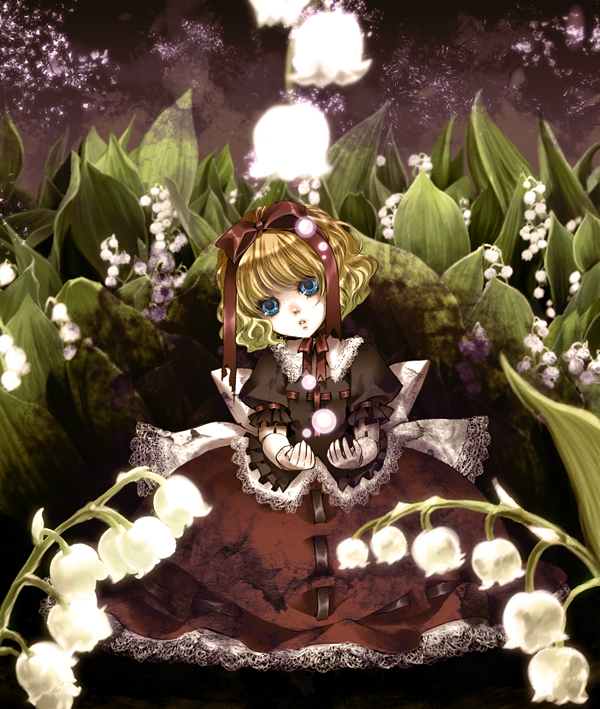 Tags: Anime, Mochinue, Touhou, Medicine Melancholy, Lily Of The Valley, Ball Jointed Doll